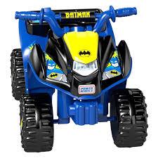 toddler ride on car power wheels clg97 batman blue lil quad