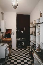lack kchen schwarz schön eingerichtete altbauküche in berlin mit schwarz weißem