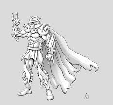 tmnt coloring pages shredder eliolera