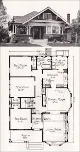Bungalow House Designs And Floor by Creative Designs 2 Vintage California Bungalow House Plans 1916