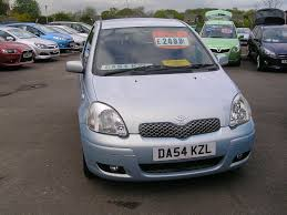 toyota yaris verso used toyota yaris blue for sale motors co uk
