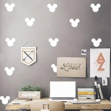 cartoon mickey head wall decal for kids boys girls room nursery cartoon mickey head wall decal for kids boys girls room nursery home decor wallpaper poster lovey little mouse