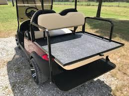 jb carts 04 club car precedent rear flip seat kit u2013 choose your