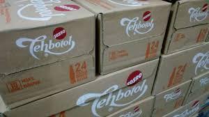 Teh Botol Sosro Kotak 1 Dus teh botol sosro kotak 200ml dus palembang kota rumah tangga