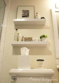 Decorative Wall Shelves For Bathroom Narrow Shelves Bathroom Lamdepda Info