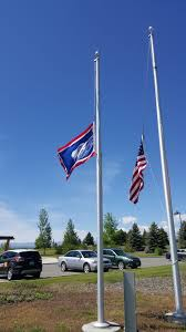 Half Mass Flag Today Fly Old Glory And State Flag At Half Staff On Monday Memorial Day