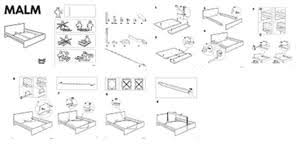 How To Assemble A Bed Frame Ikea Malm Bed Frame Bed Frame Katalog 0a3d49951cfc