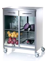 elegant vegetable storage trolley kitchen taste