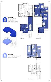 Multi Generational Floor Plans by Ensemble Ktgy Architects
