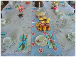 Baby Shower Table Setup by Vintage Tea Party News From Hen Parties Birthdays Baby Showers
