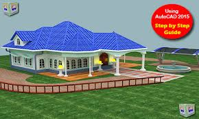 Home Design Library Download Autocad 3d House Modeling Tutorial Course Using Autocad 2015