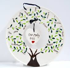 create a ceramic family tree keepsakes using one of our new pottery bisque shapes a