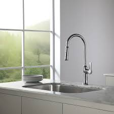 what to look for in a kitchen faucet look stylish pull kitchen faucet the homy design