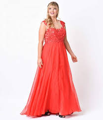 plus size red beaded lace mesh cap sleeve long dress for prom 2017
