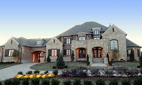 luxary home plans estate home designs showcase beautiful french country chateau