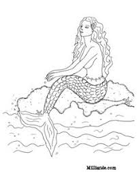 mermaid coloring mermaid category select 20946