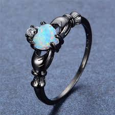 white fire rings images Fire opal heart ring zenshopworld jpg