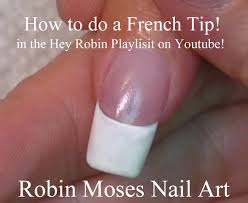 how to paint a french tip tutorial youtube