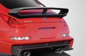 nissan altima coupe with spoiler nissan 350z 2003 2008 350z rear spoiler u0026 wings 2003 2008