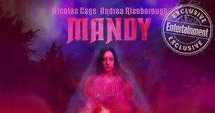 Seeking Poster Nicolas Cage Is Seeking Vengeance On Poster For Sundance Mandy