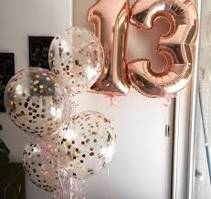36 inch balloons rosegold letter number balloons large jumbo 36