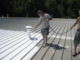 Sta Kool Elastomeric Roof Coating by Henry Roof Coating Flat Roof Pictures