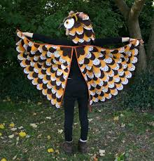 owl costume a gift of wings made by toya