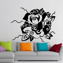 tattoo home decor buy wall tattoo flowers and get free shipping on aliexpress com