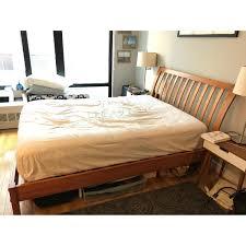 bed frames bed frame full size wood bed framess