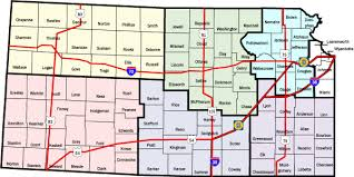 map of counties in kansas kansas highway patrol crash logs