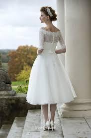 wedding dress tea length biwmagazine com