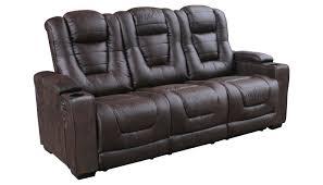 denton leather power reclining sofa santa fe power reclining sofa home zone furniture living room