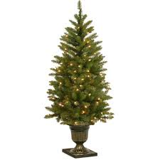 national tree company 4 ft dunhill fir entrance artificial