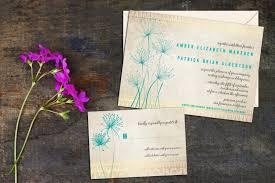 Invitations With Response Cards Papyrus Wedding Invitation Set Simple Elegant Floral Invitations