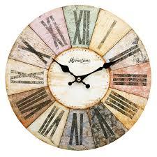Grande Horloge Murale Pas Cher by Horloge Murale Moderne Multicolore Design Contemporain Amazon