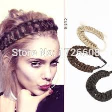 braided headbands new hair accessories for women thick braided headbands fishtail