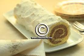 mousseline en cuisine recette roulé à la mousseline au chocolat