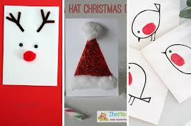 make christmas cards christmas cards kids can make mums make lists hacks for mothers