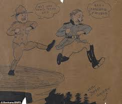 first world war sketches by walt disney showing u0027first hints of
