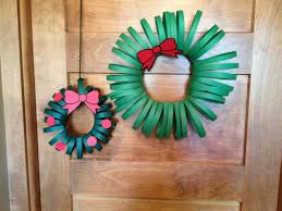 cats on the homestead paper wreath craft
