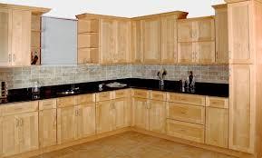 Fancy Natural Birch Kitchen Cabinets Cabinetsjpg Kitchen Uotsh - Natural kitchen cabinets