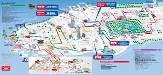 map of new york city with tourist attractions printable map of new york city attractions major