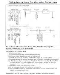 alternator wiring morris minor owners club