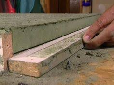 How To Make A Concrete Table by It U0027s Not Hard To Make A Custom Concrete Countertop Www
