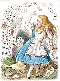 alice in wonderland color illustrations