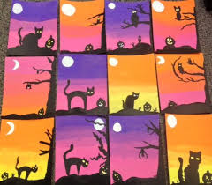 Halloween Crafts For Classroom - best 25 halloween art projects ideas on pinterest bricolage