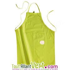 acheter tablier cuisine tablier de cuisine vert 100 coton bio achat vente écologique