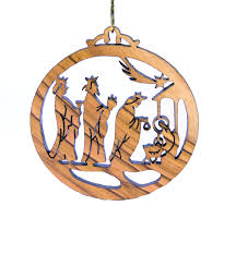 laser engraved ornaments olive wood icej store