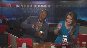 Challenge Fox News Fox 4 S Malcolm Johnson Takes On The Apple Challenge Fox 4 Now