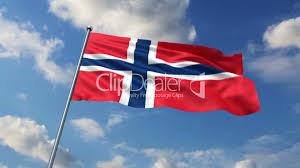 Norweigan Flag Norwegian Flag Lizenzfreie Stock Videos Und Clips